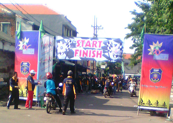 Funbike  Jelang Musycab Sepanjang