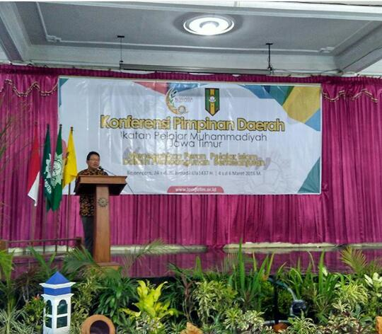 Pembukaan acara Konpida IPM Jatin