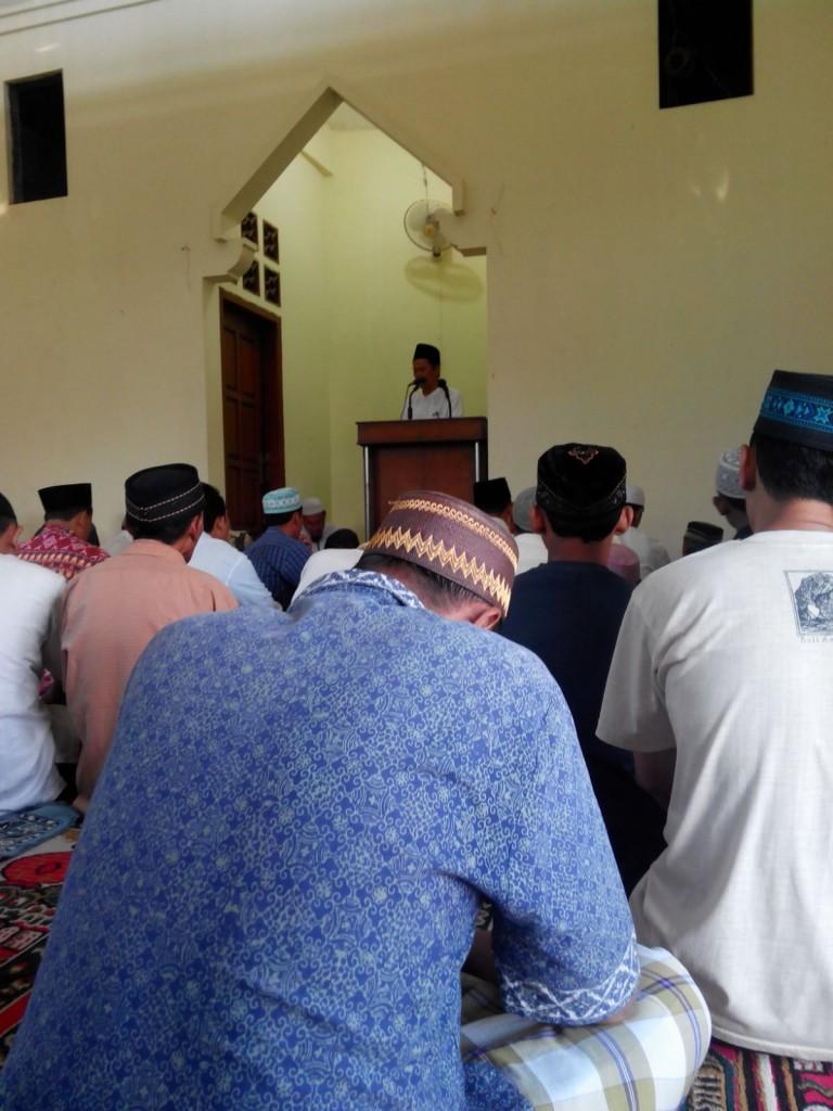 Salat Gerhana di Masjid At-Taqwa ganti, GresikWSI Men