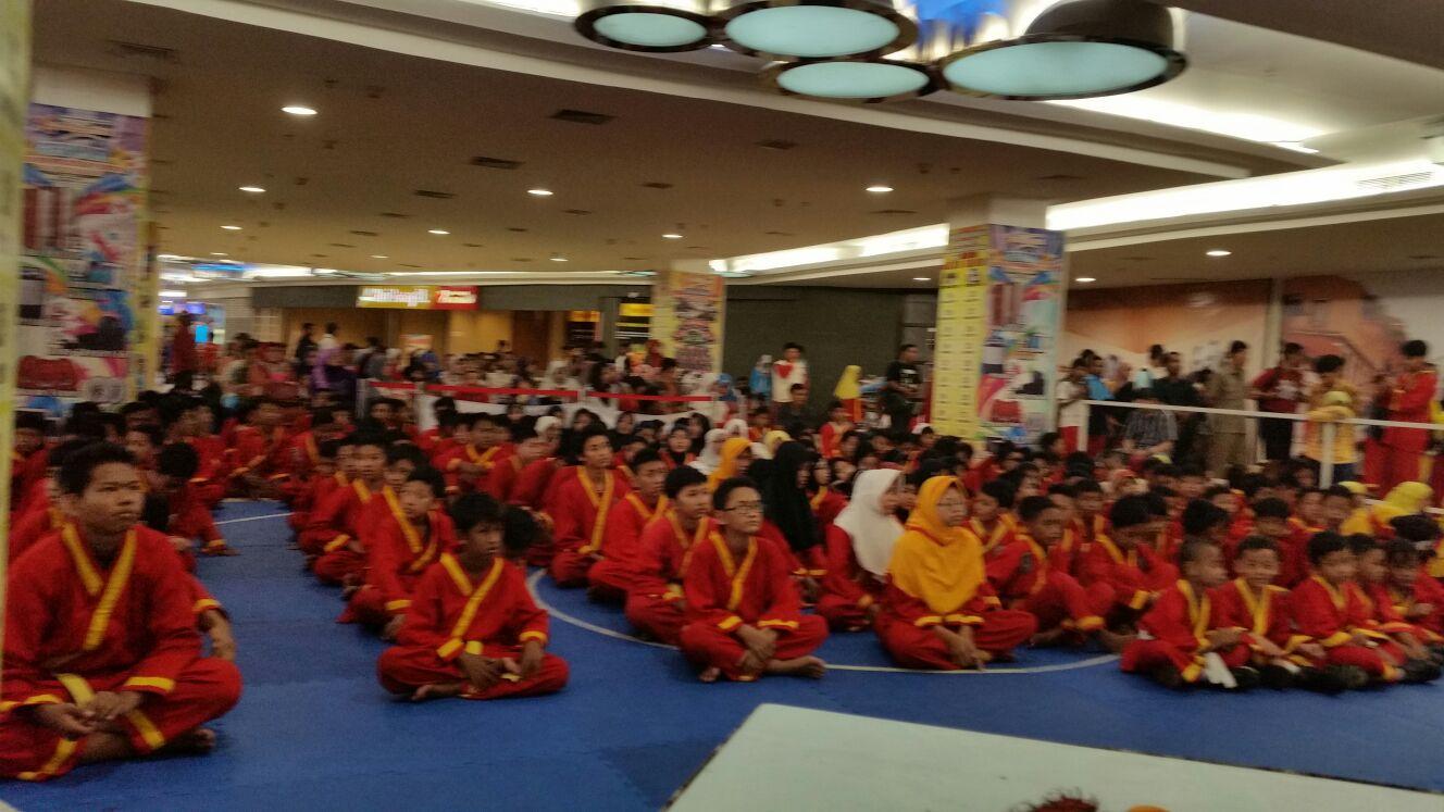 Peringatan Milad Tapak Suci Muhammadiyah yang diselenggarakan bertempat di Mall BG Jungtion, Surabaya