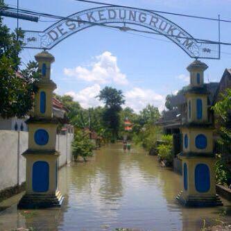 Banjir Rendam 3 Kecamatan di Gresik