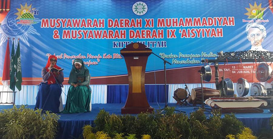 Qori Fatayat dalam Musyda Kota Blitar