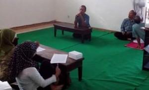 Pembekalan calon Karyawan Klinik Rawat Inap PKU Muhammadiyah Kanigoro Kras, Kabupaten Kediri (foto: ilham mardiono)