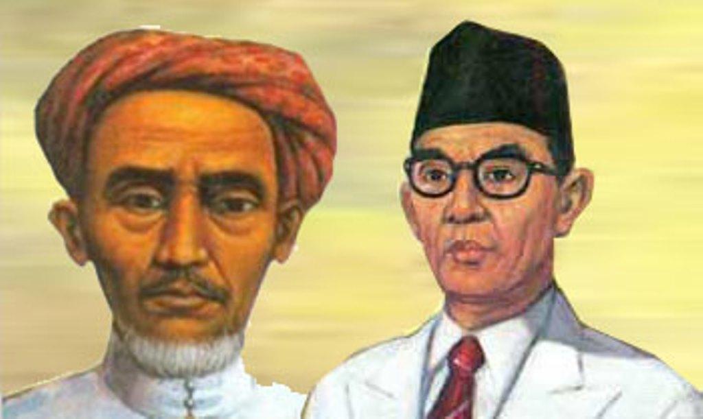 KH Ahmad Dahlan dan Ki Hajar Dewantara