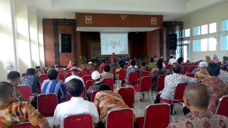 Suasana konsolidasi Muhammadiyah se-Kabupaten Malang. (Foto: Izzudin)