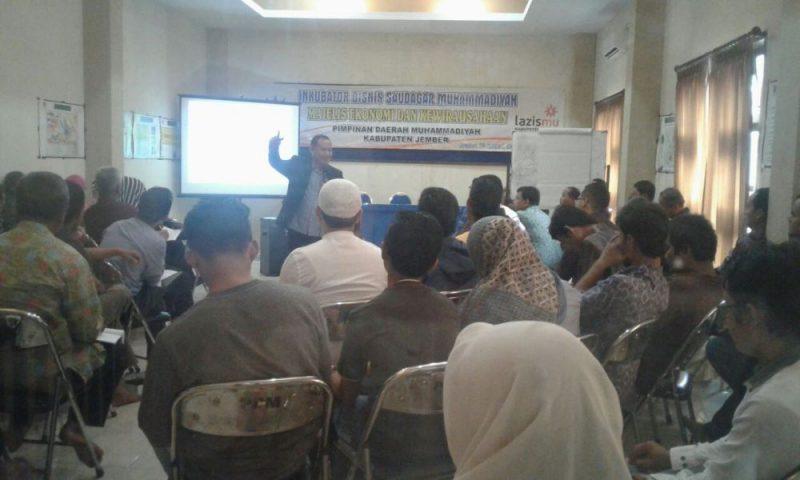 Antusiame dari peserta IBSM MEK PDM Jember. (Foto: Kamiludin)