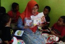 Peduli Literasi, Istri Mendikbud Buka Sanggar Baca Lesanpura