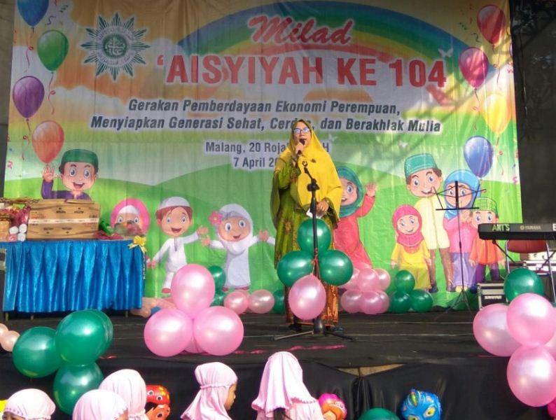 """Barengan Milad ke-104: Singo Edan """"Bertumbuh Melayani"""", Aisyiyah Harus AMPUH"""