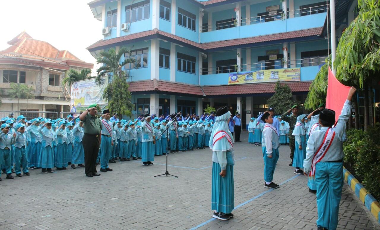 Peringatan Hari Kesaktian Pancasila Di SDMM TNI Ingatkan