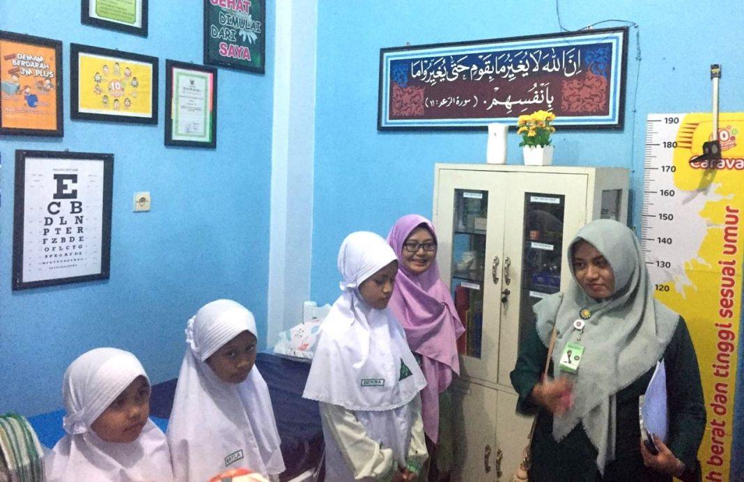 Saat Juri Lomba UKS dari Dana Sehat Muhammadiyah Tertarik Ruang Kelas dan Rumah Katering SDMM