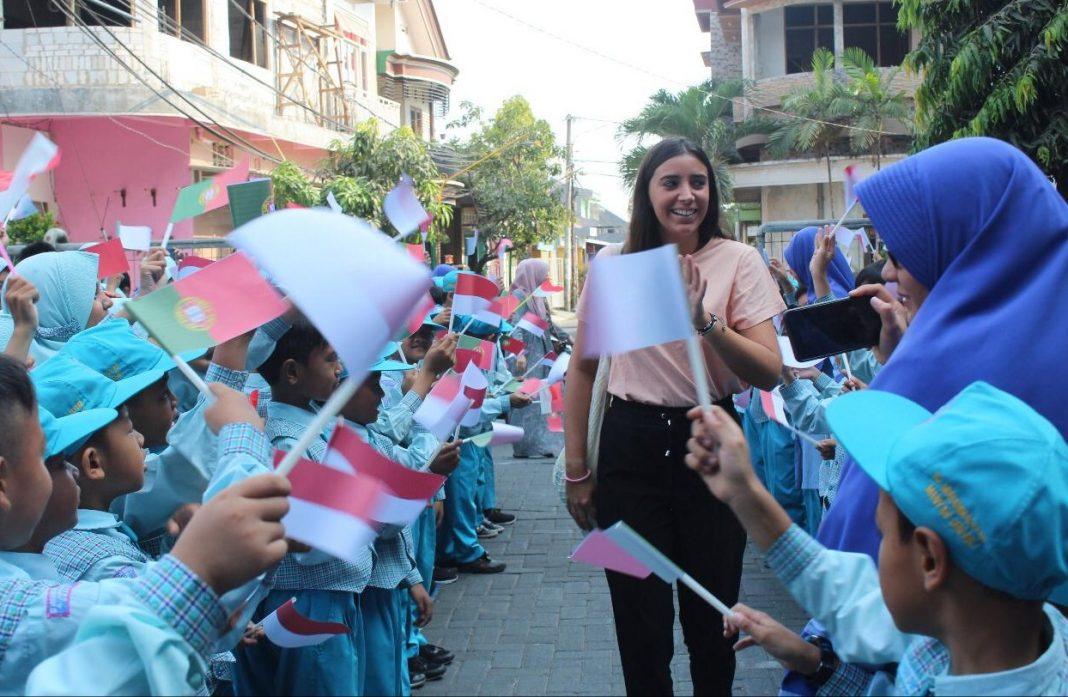 Tiba di SDMM, Gadis Portugal Ini Langsung Tertarik Pelajari Islam