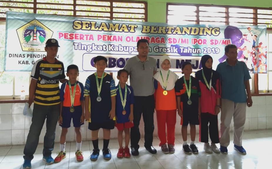 Siswa SDMM Raih Juara Tenis Meja POR SD/MI Kabupaten Gresik