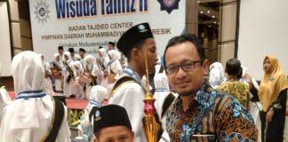Wisudawan Tahfidh Terbaik dari SDMM