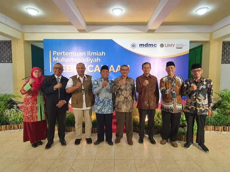 Tanaman pesisir dibahas dalam Pertemuan Ilmiah Muhammadiyah (PIM) Kebencanaan yang dihadiri Deputi Kebencanaan BNPB Lilik Kurniawan.(Affan/PWMU.CO)