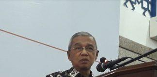 """Busyro Muqoddas mengatakan, watak Muhammadiyah itu nyumbang (memberi) bukan meminta. """"Watak Muhammadiyah itu yadul ulya khairu min yadi sufla (tangan di atas lebih baik dari tangan di bawah)."""""""