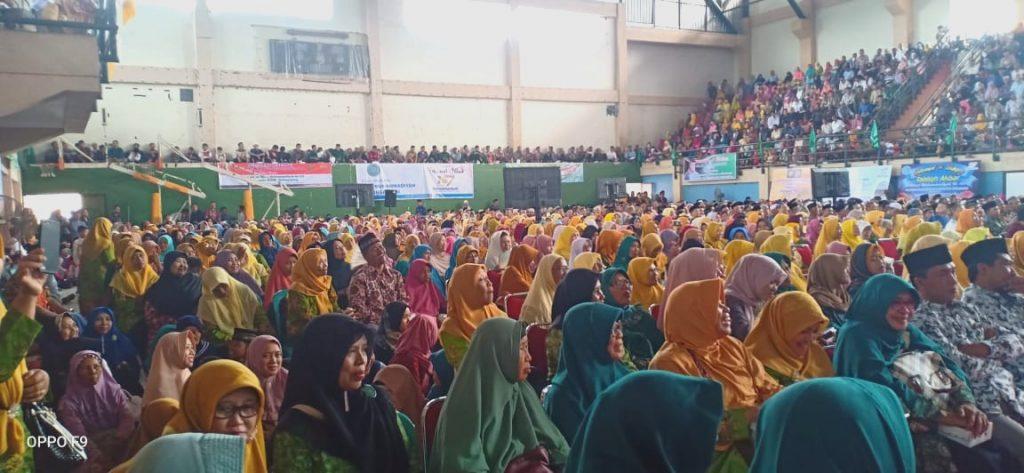 Tabligh Akbar Milad Ke-107 Muhammadiyah di Tulungagung bersama Din Syamsuddin.