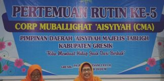 Islam Wasathiyah yang dianut Muhammadiyah memiliki 8 kriteria. Seperti dijelaskan Ketua CMA Majelis Tabligh PDA Gresik Hj Nurfadlilah SPdi.