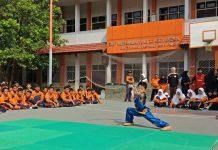 One Day Sport Spemdalas diisi dengan berbagai kegiatan olahraga. Ada atlet Wushu unjuk gigi dalam acara yang digelar Jumat (24/1/20).