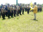 Nasarudin Yusma saat melantik Pimpinan Ranting IPM Sumberrejo Bojonegoro dengan pesan pelajar unggul (M.Shofi/PWMU.CO)