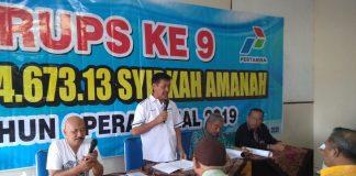 Suasana rapat umum pemegang saham SPBU Lumajang. Prof Haedar Nashir resmikan 11 AUM. (Kuswantoro/PWMU.CO)