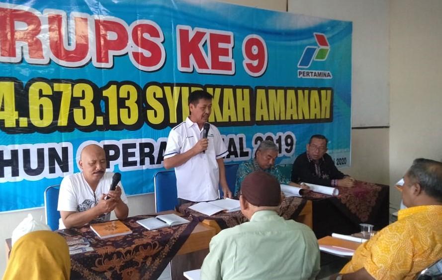 Prof Haedar Nashir akan meresmikan 11 AUM PDM Lumajang. Suasana rapat umum pemegang saham SPBU Lumajang (Kuswantoro/PWMU.CO)