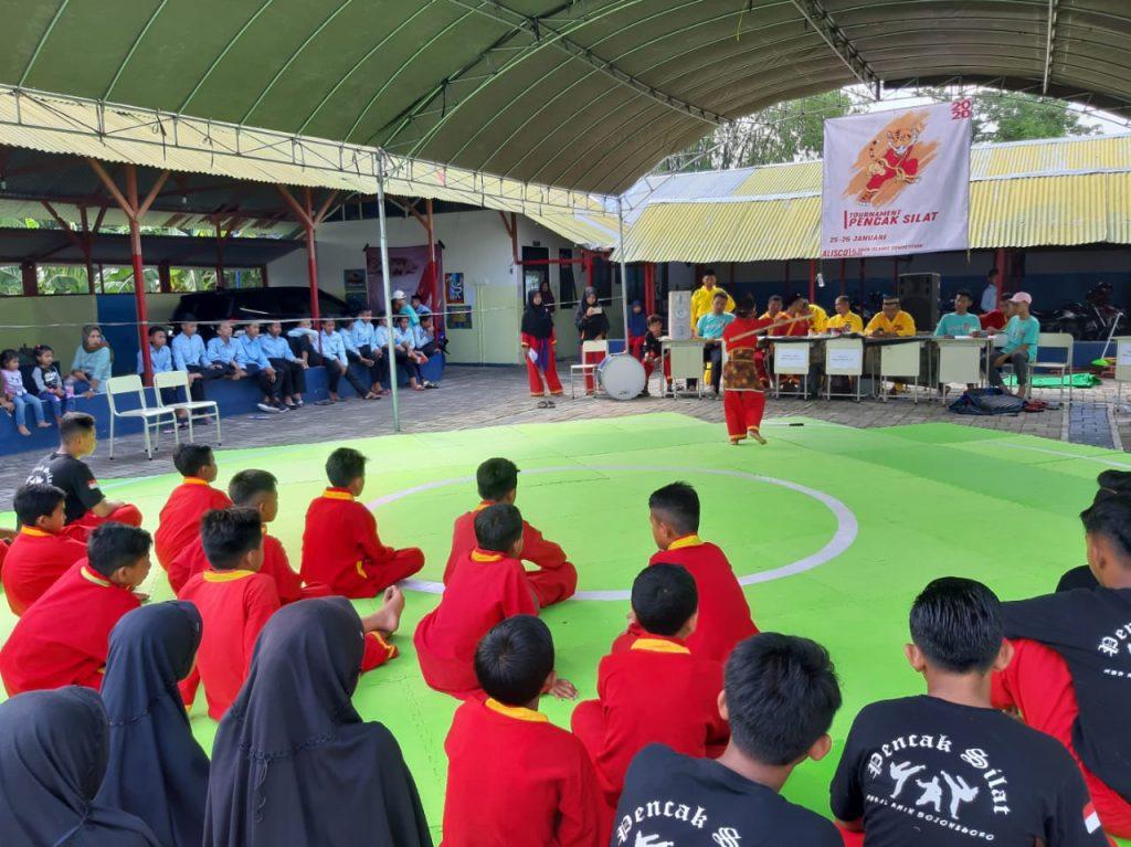 MBS Al Amin Bojonegoro gelar Alisco ketiga kalinya di Asrama Putra MBS Al Amin Bojonegoro, Ahad (26/1/20). Sebanyak 384 dari 22 sekolah turut serta.
