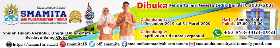 SMA Muhammadiyah 1 Taman