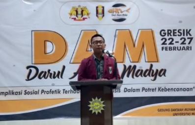 Darul Arqam Madya Nasional angkat tema Kebencanaan. Darul Arqam Madya Nasional ini digelar oleh Pimpinan Cabang Ikatan Mahasiswa Muhammadiyah Gresik.