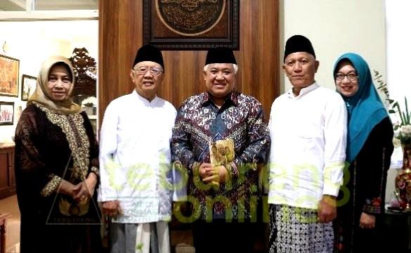 Din Syamsuddin: Gus Sholah pergi saat umat memerlukan kiai negarawan seperti almarhum. Gus Sholah wafat di Jakarta, Ahad (2/2/2020).