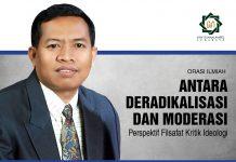 Pidato pengukuhan Prof Biyanto: Deradikalisasi dan Moderasi ini disampaikan di Universitas Islam Negeri Sunan Ampel (UINSA) Surabaya, Rabu 13 Februari 2020.