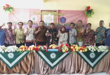 MTsM 5 Daun Bawean Menuju Madrasah Adiwiyaha Provinsi. Tim Pembina dan Penilai Adiwiyata Kabupaten Gresik hadir Jumat (14/2/2020) untuk mempersiapkan.