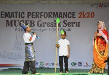 Kisah Sumur Songo dipentaskan SD Mugeb dalam Thematic Performance. Bercerita tentang cucu Sunan Giri yang dilamar Pangeran Majapahit yang non-Muslim.