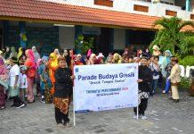 SD Mugeb gelar Parade Budaya Gresik. Acara yang merupakan rangkaian kegiatan Thematic Performance 2020 ini berjalan meriah!