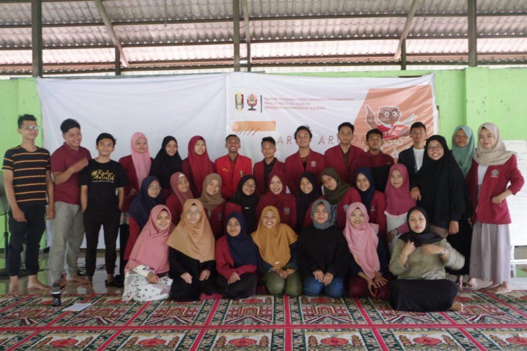 Penanaman ideologi, IMM UM Surabaya mengadakan Darul Arqam Dasar di Dusun Jemalik Mojokerto, Kamis-Ahad (20-23/02/20). Acara ini  proses pendidikan para kadernya.