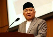 Pidato Din Syamsuddin di Kongres Umat Islam Indonesia (KUII) Ke-7 Pangkalpinang, Bangka Belitung, Rabu-Sabtu 26-29 Pebruari 2020.