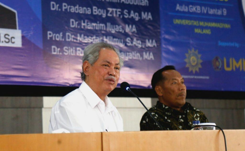 Malik Fadjar berkisah Muktamar Muhammadiyah dari masa ke masa. Saat penerapan asas tunggal Pancasila zaman Pak Harto paling kritis.