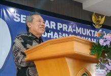 Naskah Islam Berkemajuan akan disahkan di Muktamar ke-48 Solo, 1-5 Juli 2020. Demikian dikatakan Ketua Pimpinan Pusat Muhammadiyah Syafiq A. Mughni.