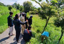 KKN 25 UM Jember mengadakan tanam pohon untuk sejuta kehidupan di Dusun Barat, Rabu (19/2/2020). 120 bibit pohon ditanam oleh mahasiswa dan warga.