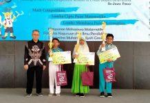SDMM juara Spectacular Math Event (SME) 2020, Ahad (16/2/20). Juara diraih oleh M Nabil Abiy Irfan, siswa kelas V Thariq bin Ziyad.