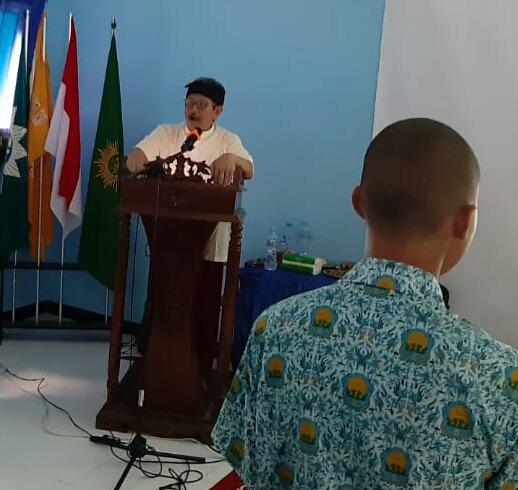 Cita-cita membangun desa digulirkan dalam motivasi siswa dan orangtua di SMK Mutu Gresik, Rabu (19/2/20). Sekolah ini berlokasi di Jalan Raya Bungah KM 17 Bungah, Gresik.