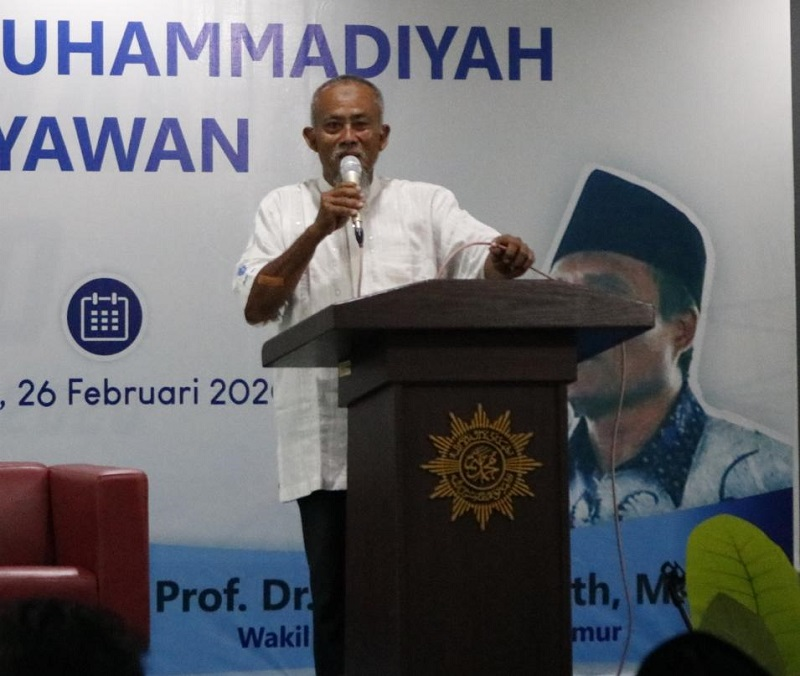 Mugeb School tak pernah tidur sore, Subuh pun rapat. Demikian dijelaskan Ketua Pimpinan Cabang Muhammadiyah (PCM) GKB Mohammad Djufri BE SSos.
