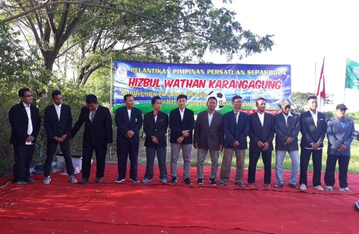 PSHW Karangagung Tuban Periode 2020-2025 Dilantik. Pelantikan dilaksanakan di Lapangan HW Karangagung, Palang, Tuban, Jumat (14/2/2020)
