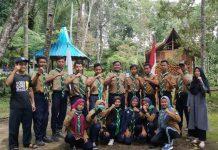 Survival Camp HW SMK Models Siliragung Banyuwangi membuat peserta terkesan. (Fela/PWMU.CO)