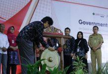 Rektor UMY Dr Gunawan Budiyanto membuka Government Gathering UMY bersama civitas akademika dan pejabat daerah. (Affan/PWMU.CO)