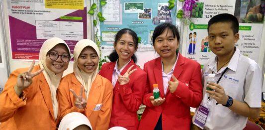 Yoghurt Daun Kelor siswa Smamita juara karya ilmiah pada ASEAN Innovative Science and Entrepreneur Fair 2020, Jumat-Ahad (14-16/2/20).