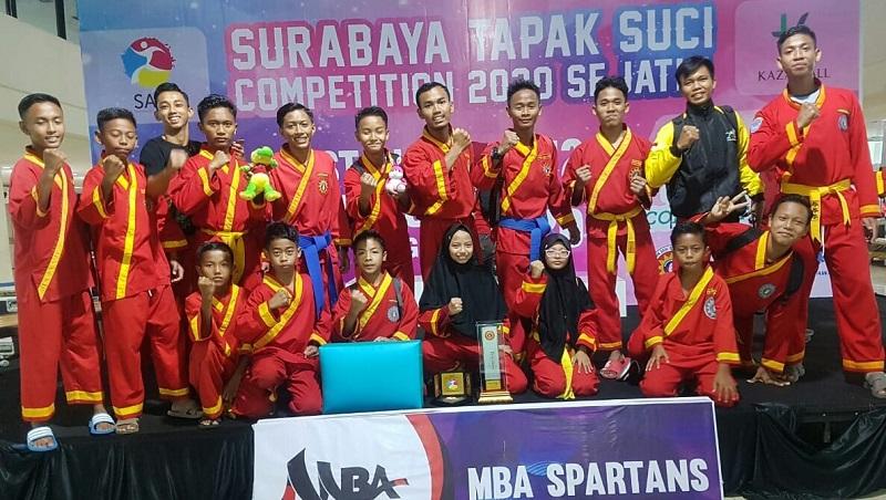 Ponpes Karangasem juara umum II STSC 2020 se-Jawa Timur, Senin-Rabu (10-12/2/20). Prestasi