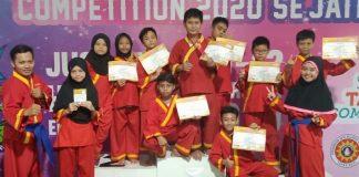 Siswa SDM 16 Surabaya meraih medali di STSC 2020 se-Jatim, Senin-Rabu (10-12/02/20). Prestasi yang telah diraih ini sangat membanggakan.