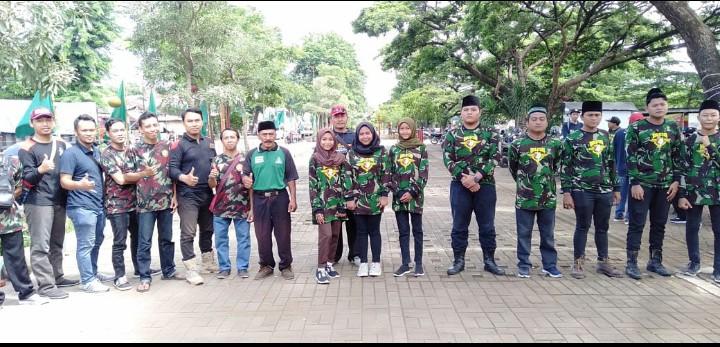 Banser amankan Gebyar Muktamar Muhammadiyah ke-48 yang digelar oleh PDM Banyuwangi. Banser ikut mengatur arus lalu-lintas di RTH Bajulmati.