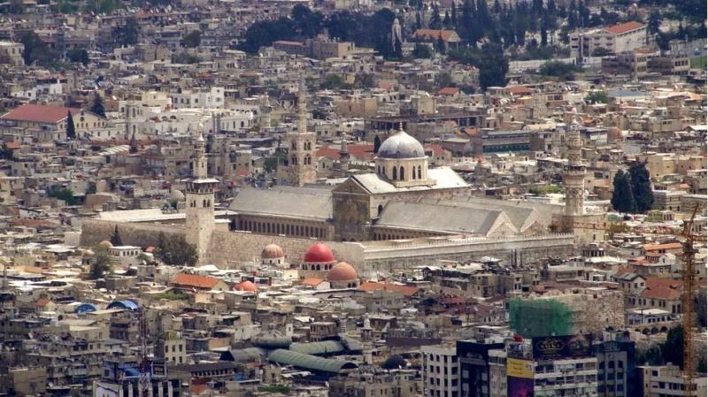 Wabah di masa Khalifah Umar pernah terjadi di Negeri Syam. Foto Masjid Umaiyah Damaskus.