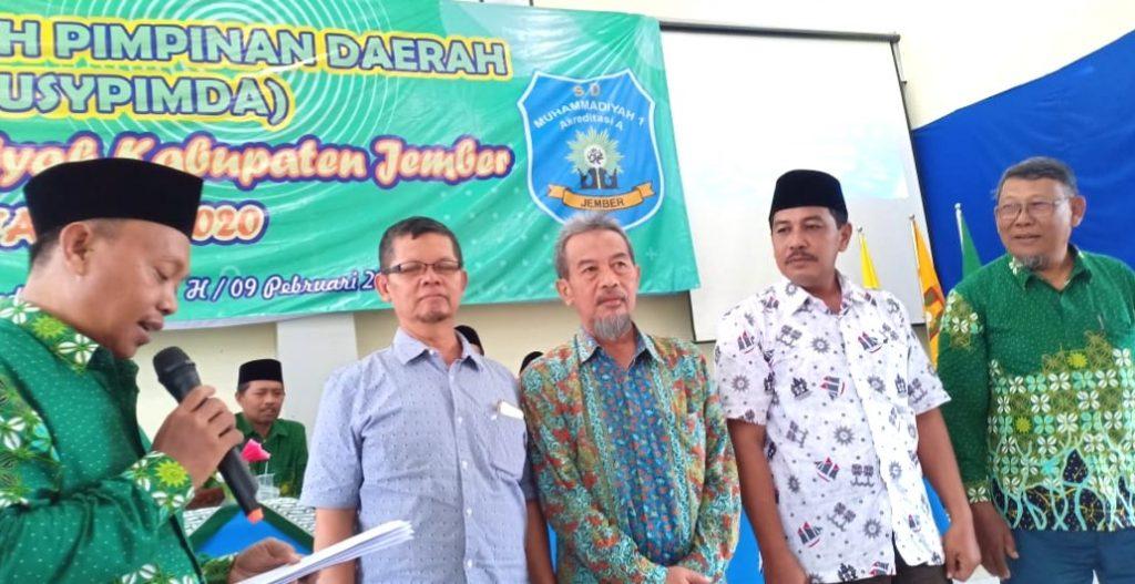 Wasiat terakhir sang pejuang dakwah itu disampaikan dalam Musyawarah Pimpinan Cabang Muhammadiyah Pakusari.